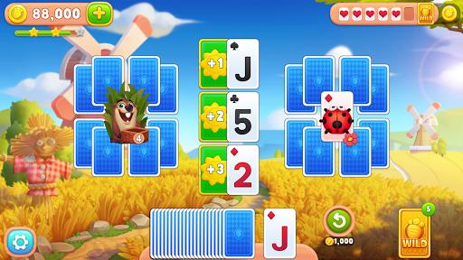 Solitaire Farm : Classic Tripeaks Card Games 1.1.0 screenshots 3