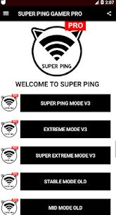 SUPER PINGER Anti Lag (Pro version no ads) 4