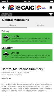 Colorado Avalanche Information Center (CAIC)