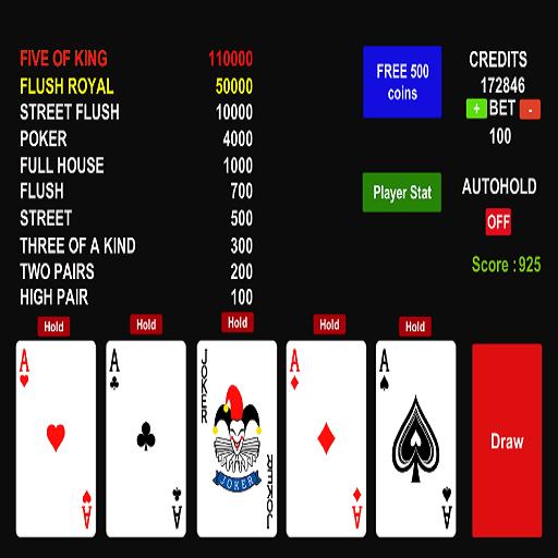 Poker Jolly Card 1.5 screenshots 2