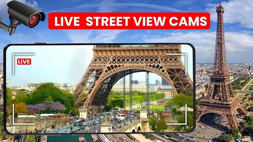 World Live Earth Web Cam - All Live Cam Earth Map 2.2 Screenshots 5