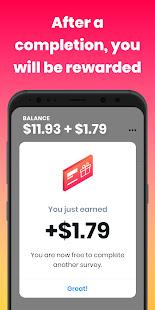Poll Pay: Earn money, cash & gift cards /w surveys 6.0.0 Screenshots 4
