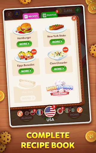 Wordelicious: Food & Travel - Word Puzzle Game apkdebit screenshots 9