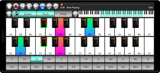 Strings and Piano Keyboard android2mod screenshots 8