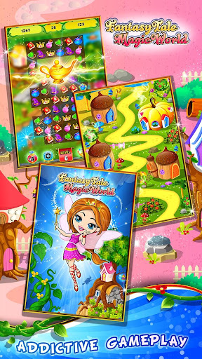 Fairy Tale ud83cudf1f Match 3 Games apkpoly screenshots 4