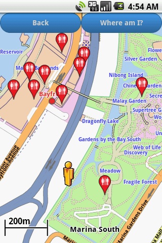 Singapore Amenities Map For PC Windows (7, 8, 10, 10X) & Mac Computer Image Number- 5