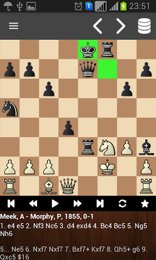 Chess PGN reader Latest screenshots 1
