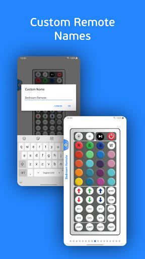 vRGB - LED IR Remote Control android2mod screenshots 4