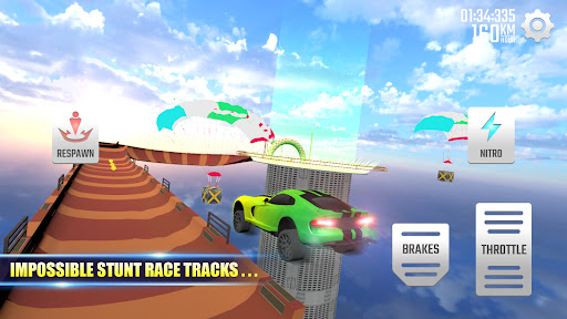 Mega Ramp Car - New Car Games 2021  screenshots 1
