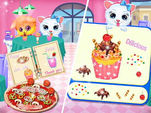 Cute Kitty Daycare Activity - Fluffy Pet Salon 6.0 screenshots 1