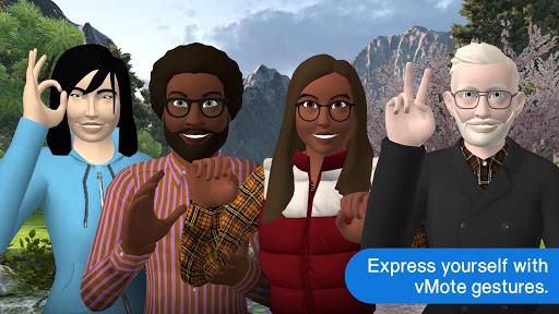 vTime XR – The AR & VR Social Network