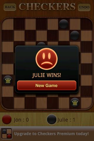 Checkers Free 1.52 screenshots 4