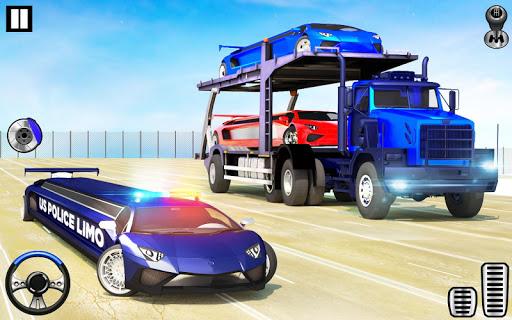 US Police Limo Transport, Aeroplane transport Game 1.0.9 screenshots 4