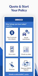 GEICO Mobile – Car Insurance Car Insurance Apk Lastest Version 2021** 3