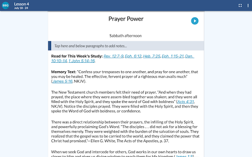 SDA Sabbath School Quarterly 5.0.231 Screenshots 7