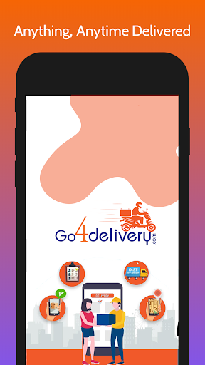 go4delivery-fast & same day delivery app screenshot 1