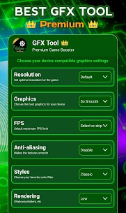 GFX Tool Pro + 🔧 Game Booster & Game Graphics Fix For Android 5