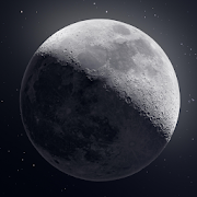 SPINNING MOON theme for KLWP