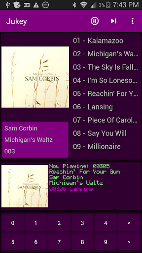 jukey - jukebox music player screenshot 1