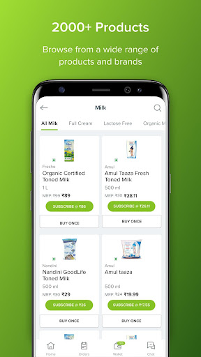 bbdaily: Online Daily Milk & Grocery Home Delivery 5.0.34 screenshots 5