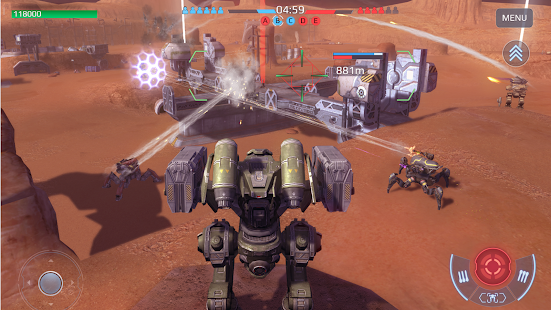 War Robots Multiplayer Battles Screenshot