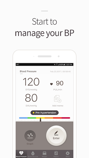 Blood Pressure(BP) Diary 4.1.8 screenshots 1