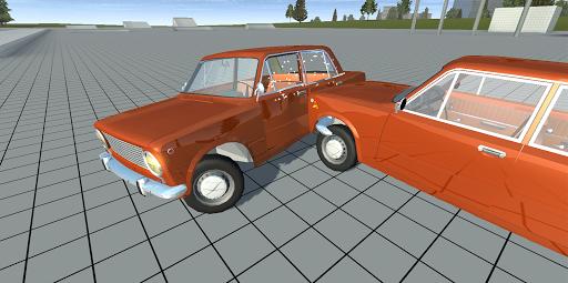Simple Car Crash Physics Simulator Demo 1.1 screenshots 3