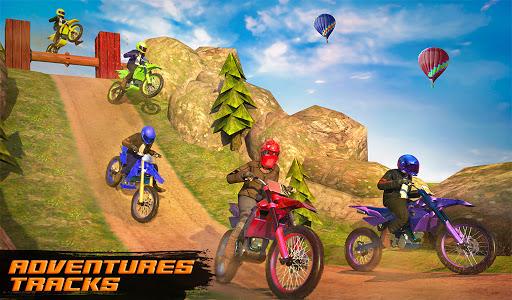 Motocross Dirt Bike Stunt Racing Offroad Bike Game apktram screenshots 4