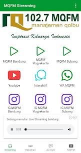 MQFM (Manajemen Qalbu FM) 5.0.8 APK + MOD (Unlocked) 3