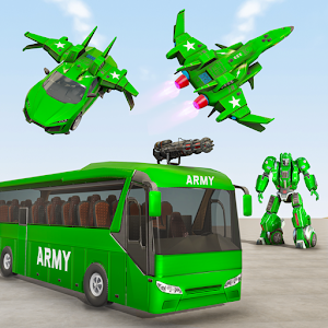 Army Bus Robot Car Game  Transforming robot games