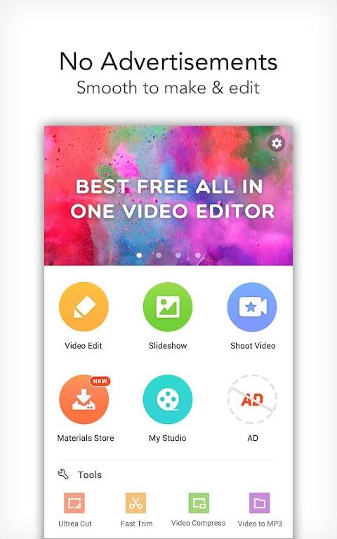 VideoShow Pro - Video Editor, music, no watermark  poster 1