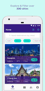 Moving Nomads - City tips & list travelers nearby