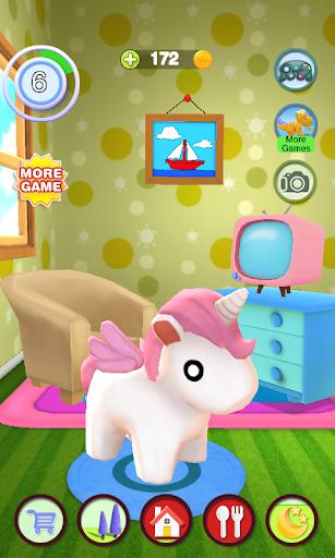 Talking Unicorn apktram screenshots 4