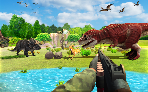 Dinosaurs Hunter Wild Jungle Animals Shooting Game apkdebit screenshots 5