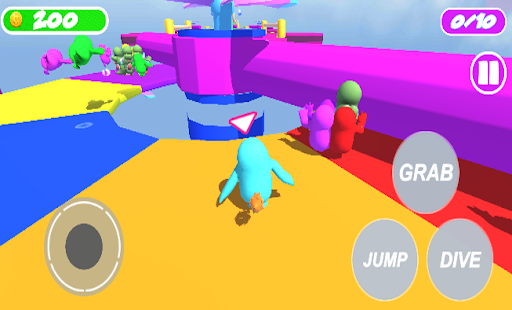 FaII Guys Knockout : Obstacles without fall! Apkfinish screenshots 1