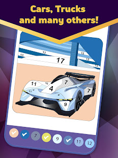 Super Duper - Cars Coloring by Numbers
