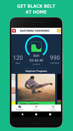 Mastering Taekwondo - Get Black Belt at Home 1.1.8 Screenshots 8