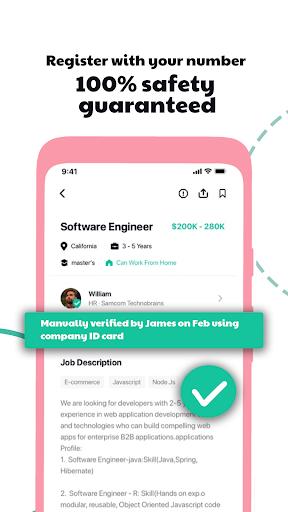 Hirect: Chat Based Job Search apktram screenshots 4