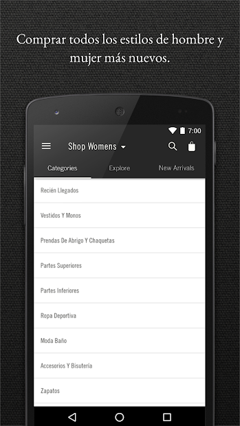 Screenshot 6 de Abercrombie & Fitch para android
