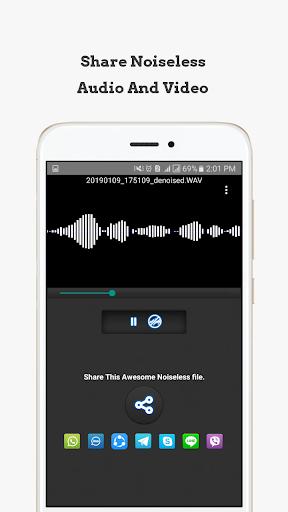Mp3, MP4, WAV Audio Video Noise Reducer, Converter 0.6.1 Screenshots 8
