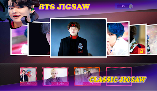 BTS Jigsaw Puzzle Games  screenshots 2