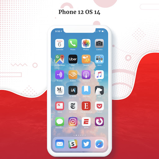iPhone 12 Launcher, Control Center, OS 14 Launcher hack tool