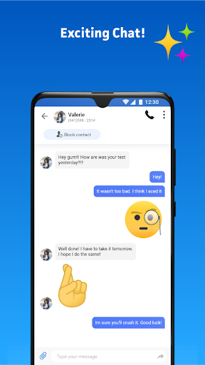 Messenger Home - SMS Widget and Home Screen android2mod screenshots 2