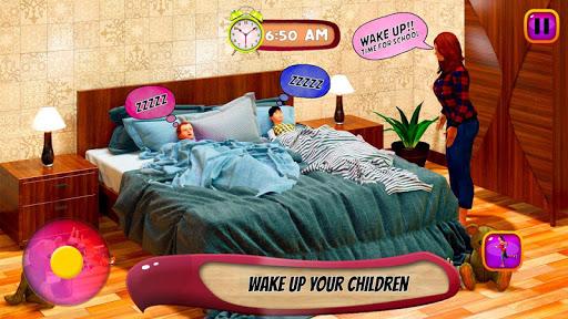 Virtual Mother Life Simulator - Baby Care Games 3D Apkfinish screenshots 11