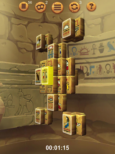 Doubleside Mahjong Cleopatra 2.9 screenshots 17