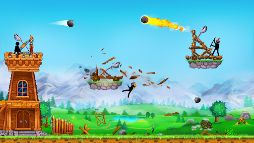 The Catapult 2: Grow Castleu30fbTower Defenseu30fbStickman goodtube screenshots 1