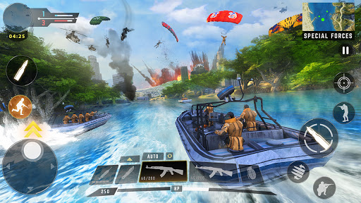 Free Fire Game 2021- FPS Shooting Game 1.9 screenshots 17