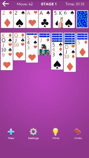 classic solitaire screenshot 2