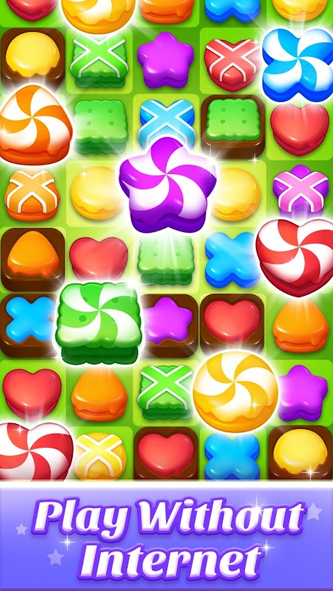 Cookie World -- Clash of Cookie & Colorful Puzzleのおすすめ画像2
