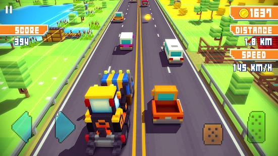 Blocky Highway: Traffic Racing 1.2.3 Screenshots 16